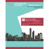 2018 Young Conaway Brochure Cover Annual Employment Law Seminar
