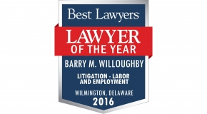Barry M. Willoughby Best Lawyers Logo