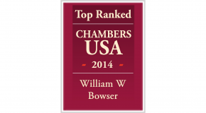 William Bowser Chambers USA Top Ranked 2014