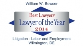William bowser Best Lawyers Lawyer of the Year 2014