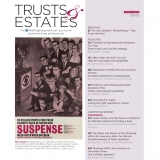 Spring 2018 Trusts & Estates Cover