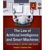Law of Artificial Intelligence and Smart Machines Book Cover