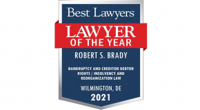 Best Lawyers - Lawyer of the Year Robert Brady__ Contemporary Logo