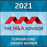 2021 M&A Advisor Turnaround Award Winner Logo